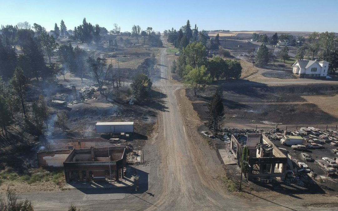 City of Malden assisting namesake town in Washington after it was destroyed by wildfire