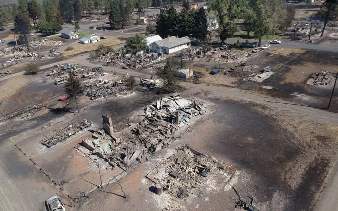 'When the sparks just flew': How power lines ignited dozens of Washington state fires during fierce Labor Day winds