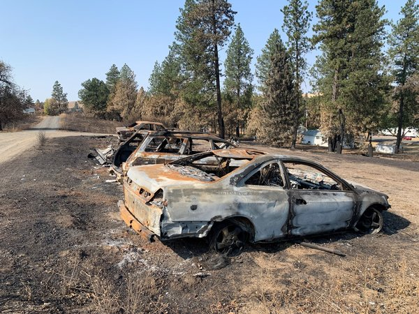 Wildfire-Ravaged Farming Town In Limbo As It Awaits Aid To Rebuild